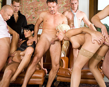 Fucked hardcore orgy party sex useful